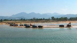 Quảng Ngãi: Tăng cường xử lý vi phạm pháp luật trong hoạt động khai thác khoáng sản