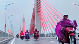 Chính thức thông xe kỹ thuật cầu hiện đại nhất Quảng Ngãi