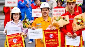 Chi nhánh Khí Hải Phòng giành giải Nhất toàn đoàn tại Hội thao PCCC Khu kinh tế Đình Vũ năm 2020