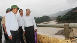 Phó Thủ tướng Trương Hòa Bình kiểm tra công tác phòng chống thiên tai ở Quảng Nam