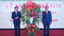 Đại học TN&MT Hà Nội khai giảng năm học 2020- 2021