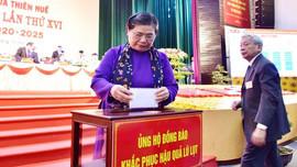 """Phó Chủ tịch Thường trực Quốc hội Tòng Thị Phóng: """"Thừa Thiên Huế cần đổi mới tư duy phát triển, khai thác tốt tiềm năng văn hóa"""""""