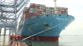 Bà Rịa – Vũng Tàu đón tàucontainer lớn nhất thế giới