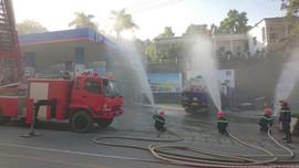 Petrolimex Cao Bằng: Tập huấn phòng cháy chữa cháy và cứu nạn cứu hộ năm 2020