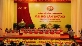 Khai mạc Đại hội Đảng bộ tỉnh Thanh Hoá lần thứ XIX, nhiệm kỳ 2020-2025