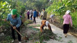 Ngày thứ Bảy giúp người dân thực hiện tiêu chí Môi trường