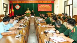 Đoàn công tác Bộ Quốc phòng kiểm tra ứng phó bão số 9 tại Đà Nẵng