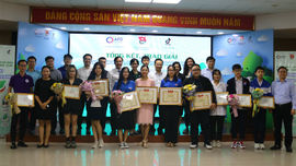 """12 giải được trao tại cuộc thi video, clip """"Vì một Việt Nam xanh"""""""
