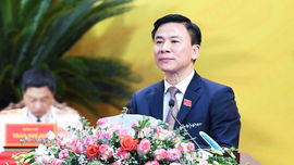 Ông Đỗ Trọng Hưng là tân Bí thư Tỉnh ủy Thanh Hóa