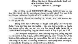 Gia Lai, Kon Tum cho học sinh nghỉ học tránh bão