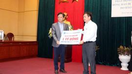 BSR hỗ trợ tỉnh Quảng Ngãi 1 tỷ đồng khắc phục thiệt hại do bão số 9