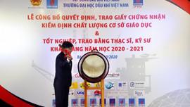 Đại học Dầu khí Việt Nam khai giảng năm học mới 2020 - 2021 và trao bằng thạc sỹ, kỹ sư