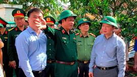 Bộ TN&MT hỗ trợ kinh phí vùng tâm bão Quảng Ngãi khắc phục, xử lý môi trường