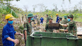 Thừa Thiên Huế: Tổng vệ sinh môi trường sau lũ bão