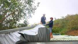 Đà Nẵng: Giúp dân lợp nhà miễn phí sau bão