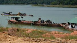 Lâm Đồng: Buông lỏng quản lý khai thác khoáng sản trên lòng hồ Thủy điện Hàm Thuận – Đa Mi