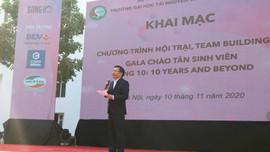 Đại học Tài nguyên và Môi trường Hà Nội tổ chức Hội trại