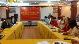 Hội Nhà báo tỉnh Thái Nguyên tổ chức tập huấn kỹ năng viết tin, bài cho báo điện tử