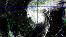 Hoàn lưu bão số 13 ảnh hưởng trực tiếp phía Nam Nghệ An - Quảng Ngãi