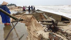 Bão số 13 gây nhiều thiệt hại tại Quảng Trị