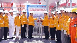 Đón nhận dòng khí đầu tiên từ mỏ Sao Vàng– Đại Nguyệt đến đường ống tiếp bờ Nam Côn Sơn 2