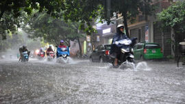 Thời tiết 16/11: Bắc Bộ và Bắc Trung Bộ mưa lớn diện rộng