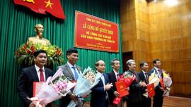 Thừa Thiên Huế phân công, bổ nhiệm nhiều vị trí trong Ban Thường vụ Tỉnh ủy