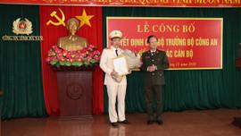 Hà Nam có tân phó Giám đốc Công an tỉnh