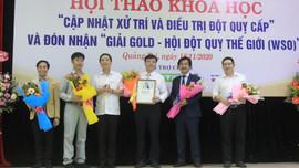 Bệnh viện Đa khoa tỉnh Quảng Trị nhận giải Vàng của Hội Đột quỵ thế giới