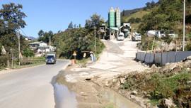 Sa Pa- Lào Cai:  Cần sớm di dời 3 trạm trộn bê tông ra khỏi Khu du lịch Quốc gia Sa Pa