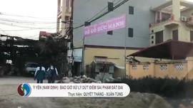 Thanh tra Bộ TN&MT đề nghị tỉnh Nam Định báo cáo vụ việc đất đai tại huyện Ý Yên