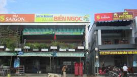 Bình Định: Nhà hàng Biển Ngọc bất ngờ mọc lên trong dự án thông tuyến đường Lê Hồng Phong