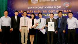 Bệnh viện Trung ương Huế nhận giải thưởng danh giá của Hội đột quỵ thế giới