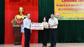 PVN cùng các đơn vị thành viên BSR và PVGAS hỗ trợ tỉnh Quảng Ngãi 2 tỷ đồng khắc phục thiệt hại do bão số 9
