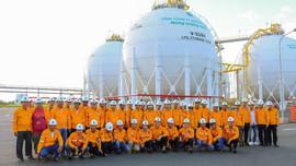 PVGAS LPG tổ chức cho khách hàng tham quan Nhà máy xử lý Khí Cà Mau