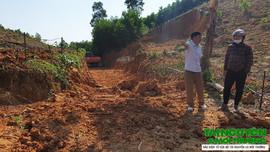 """Như Thanh (Thanh Hóa): Xã """"qua mặt"""" tỉnh cho phép khai thác đất"""
