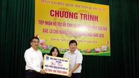 PV GAS ủng hộ 500 triệu đồng cho Quảng Ngãi.