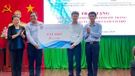 Tập đoàn Dầu khí Việt Nam tham gia đoàn công tác Trung ương đến miền Tây Nam bộ