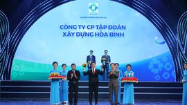 Tập đoàn Xây dựng Hòa Bình 7 lần liên tiếp đạt Thương hiệu Quốc gia Việt Nam