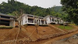 """Hòa Bình: Hàng trăm khách hàng có nguy cơ """"mất trắng"""" khi mua Dự án Onsen Villas"""