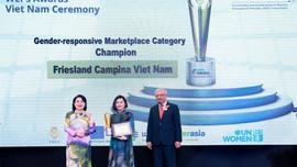 FrieslandCampina Việt Nam tự hào nhận Giải thưởng Nguyên tắc trao quyền cho Phụ nữ