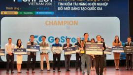 Quán quân cuộc thi ''Tìm kiếm tài năng khởi nghiệp đổi mới sáng tạo quốc gia'' nhận giải thưởng 200 triệu đồng