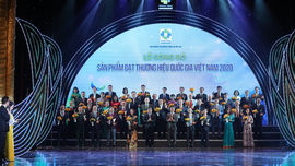 HABECO được vinh danh Thương hiệu Quốc gia lần thứ 5 liên tiếp