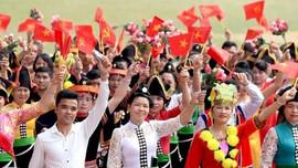 Ngày mai 2/12, bắt đầu chương trìnhĐại hội Đại biểu toàn quốc các DTTS Việt Nam lần thứ II