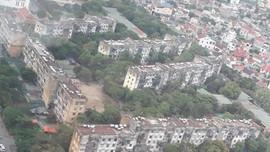 """Nghệ An: """"Hỏa tốc"""" di dời người dân tại chung cư Quang Trung"""