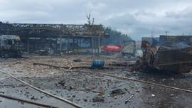 Cháy nổ tại khu vực biên giới Việt - Lào khiến nhiều người thương vong