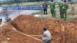 Bắt quả tang Cty CP chế biến nông sản BHL Sơn La có dấu hiệu xả nước thải chưa đúng quy định