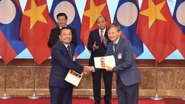 Ký kết các Biên bản ghi nhớ giữa  EVN với các Nhà đầu tư các dự án điện tại Lào
