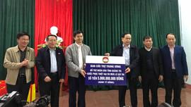 Ủy ban Trung ương MTTQ Việt Nam hỗ trợ Quảng Trị khắc phục hậu quả thiên tai