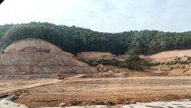 Nhà máy Nhiệt điện Hải Dương đốn rừng, tận thu đất đồi khi chưa được giao đất?